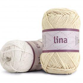 Lina - 68% bomull & 32% Lin